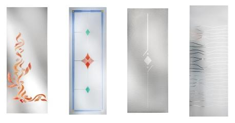Vetrate artistiche per porte vetri artistici - Specchi colorati ...